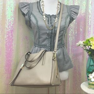 Kate Spade Grey Street Dominique Pebble Leather